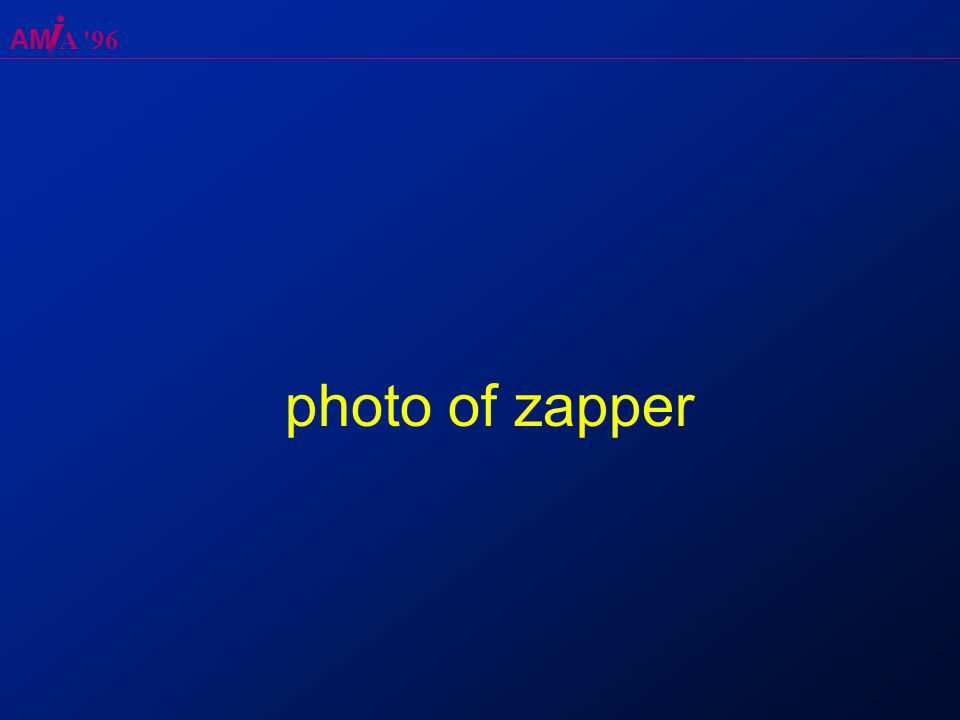 AM A 96 photo of zapper