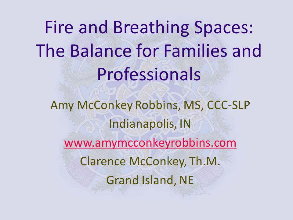Resource for Vocational Renewal and Relationships with Families and Colleagues Whirlwinds and Small Voices – Sustaining Commitment to work with Special-Needs Children Amy McConkey Robbins and Clarence McConkey Wordplay Publications (2008) www.whirlwindsbook.com