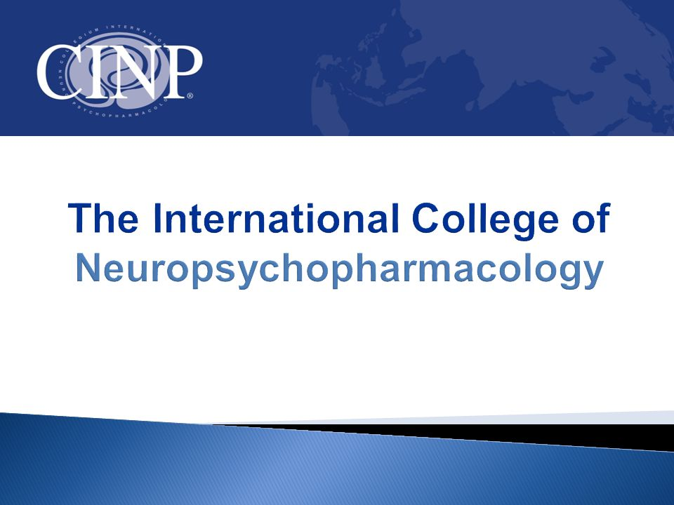 The International College of Neuropsychopharmacology