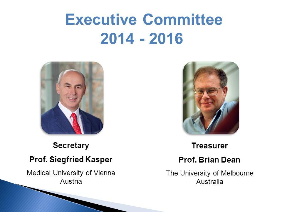 Executive Committee 2014 - 2016 Secretary Prof.