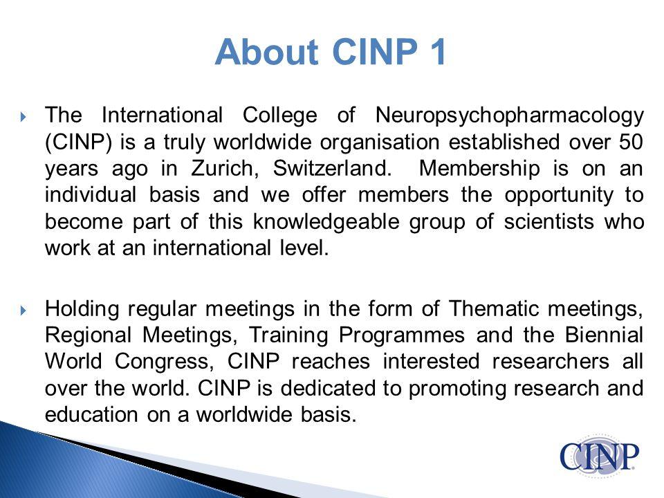 About CINP 1