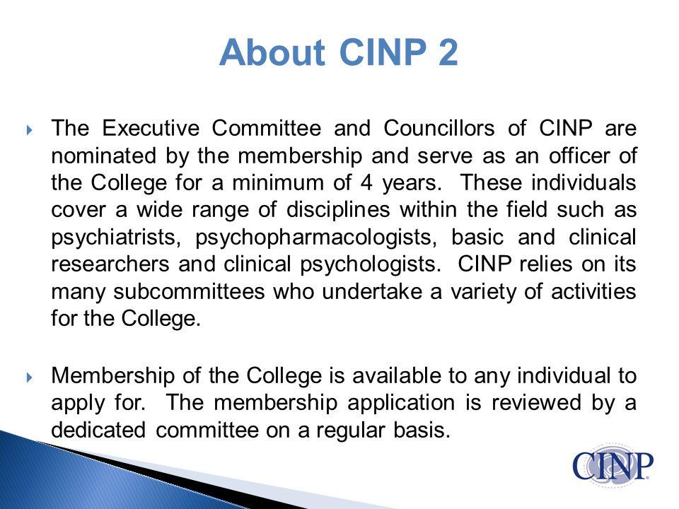 About CINP 2