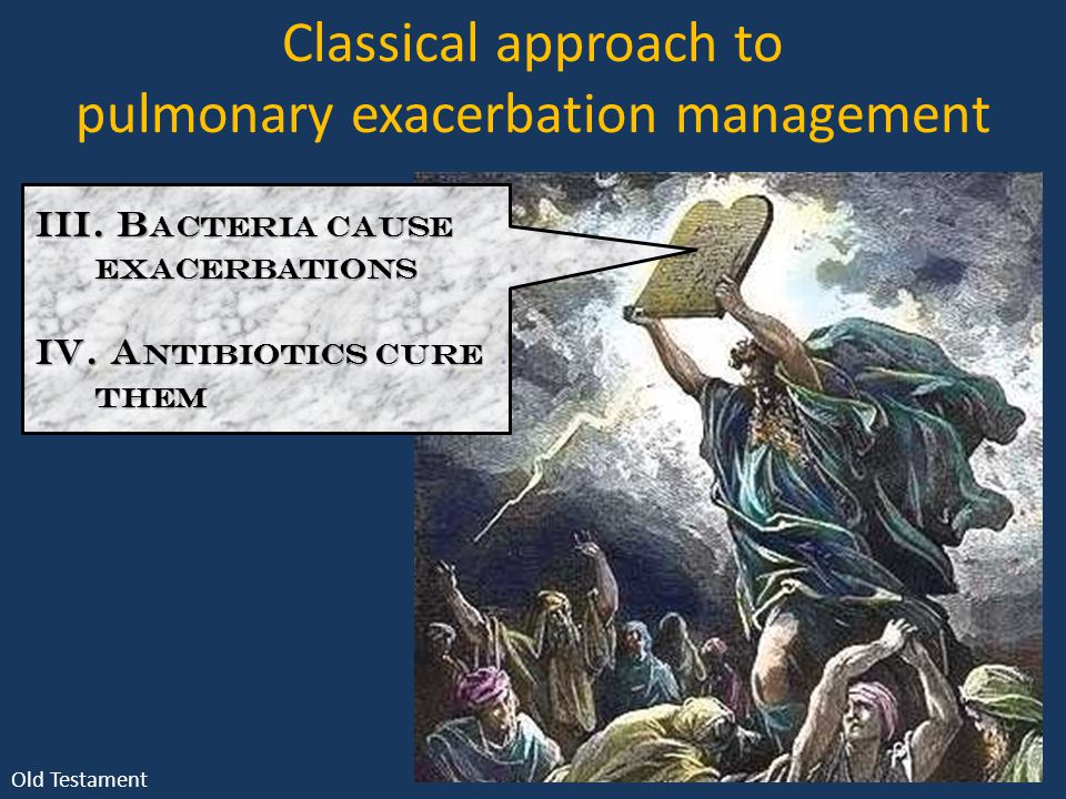 Classical approach to pulmonary exacerbation management III.