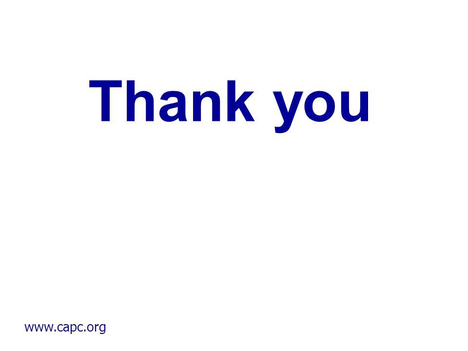 www.capc.org Thank you