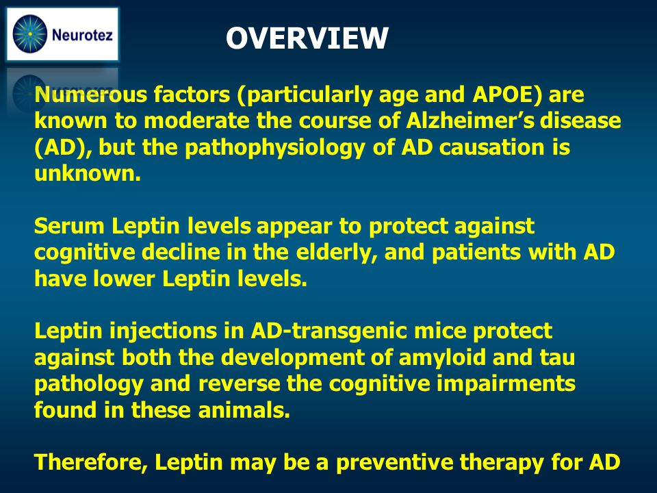 Numerous factors (particularly age and APOE) are known to moderate the course of Alzheimer's disease (AD), but the pathophysiology of AD causation is
