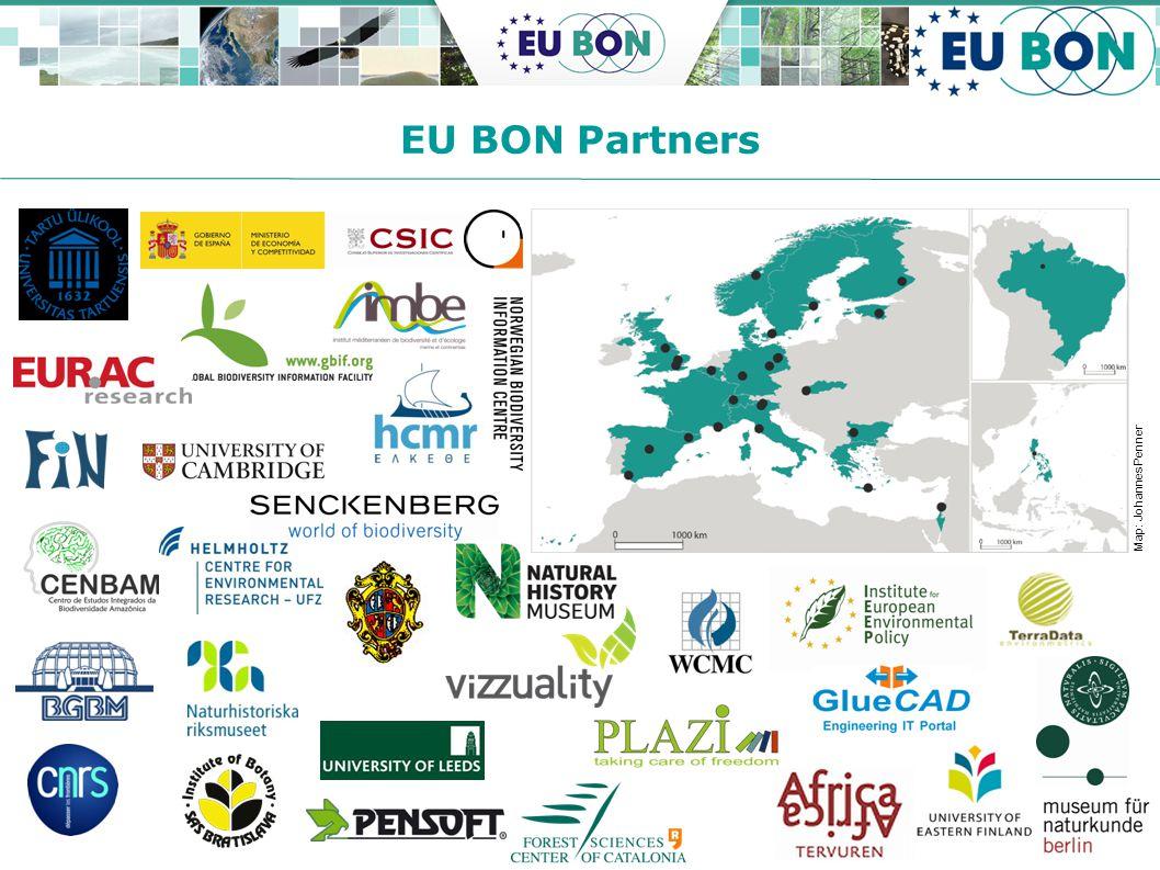GEO-X Plenary + Geneva Ministerial Summit 2014 EU BON Partners Map: Johannes Penner