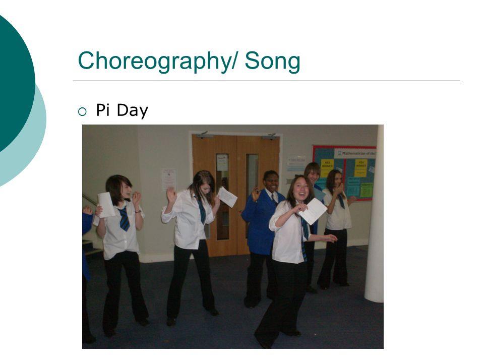 Choreography/ Song  Pi Day