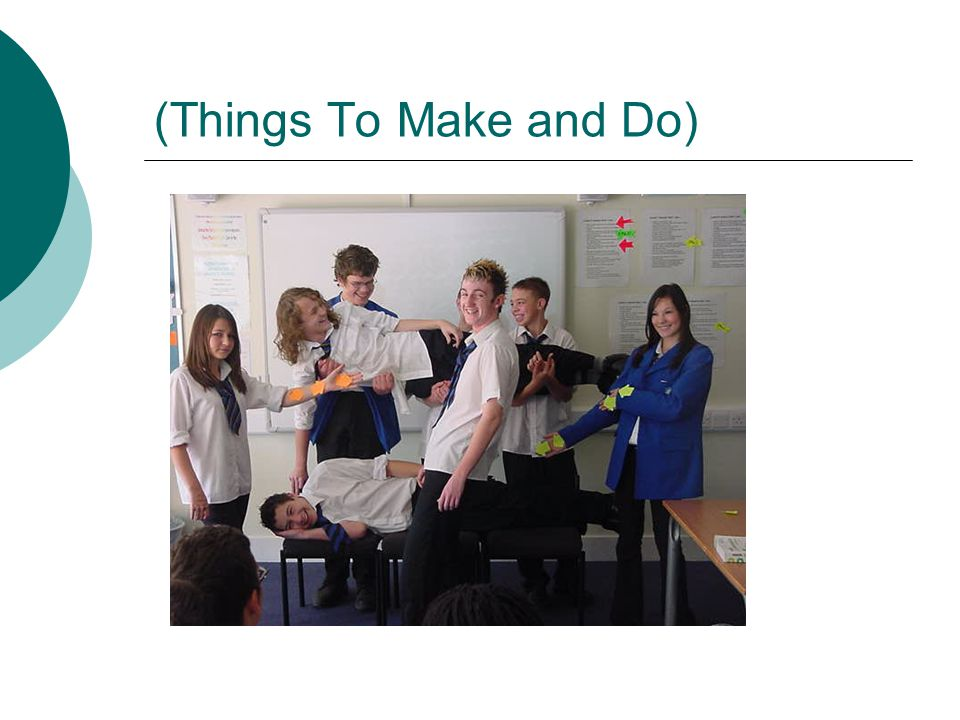 (Things To Make and Do)