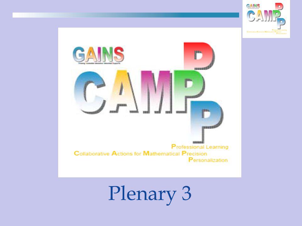 Plenary 3