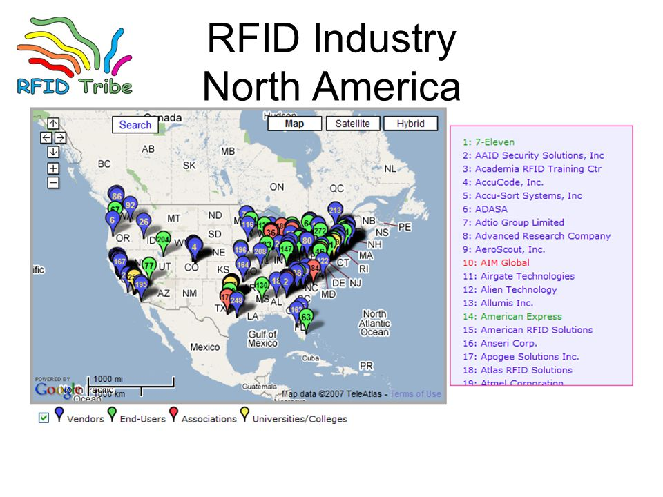 RFID Industry North America