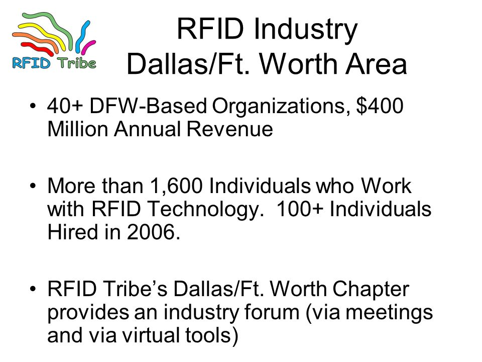 RFID Industry Dallas/Ft.