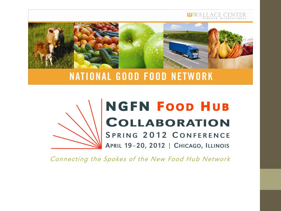 Deep South Conclusions 1.Opportunity to work with Fast Food and State institutions at macro and micro level 2.Food hubs and their networks are natural bridges 3.Where are the market opportunities and what are their current capacities for production.
