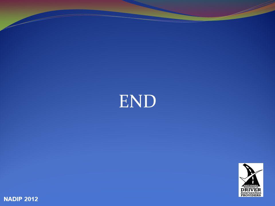 END NADIP 2012