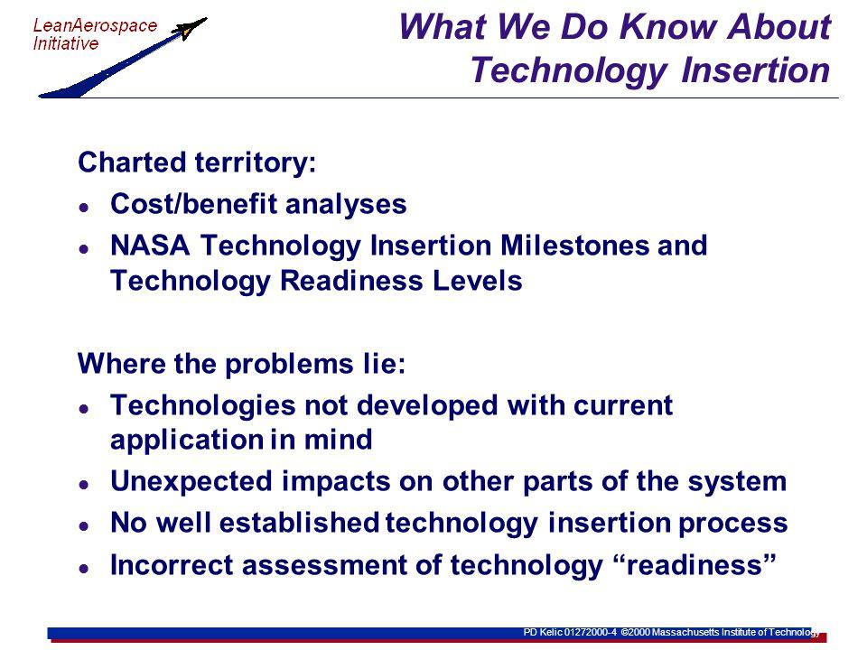 PD Kelic 01272000-15 ©2000 Massachusetts Institute of Technology SIA Roadmaps for Semiconductors
