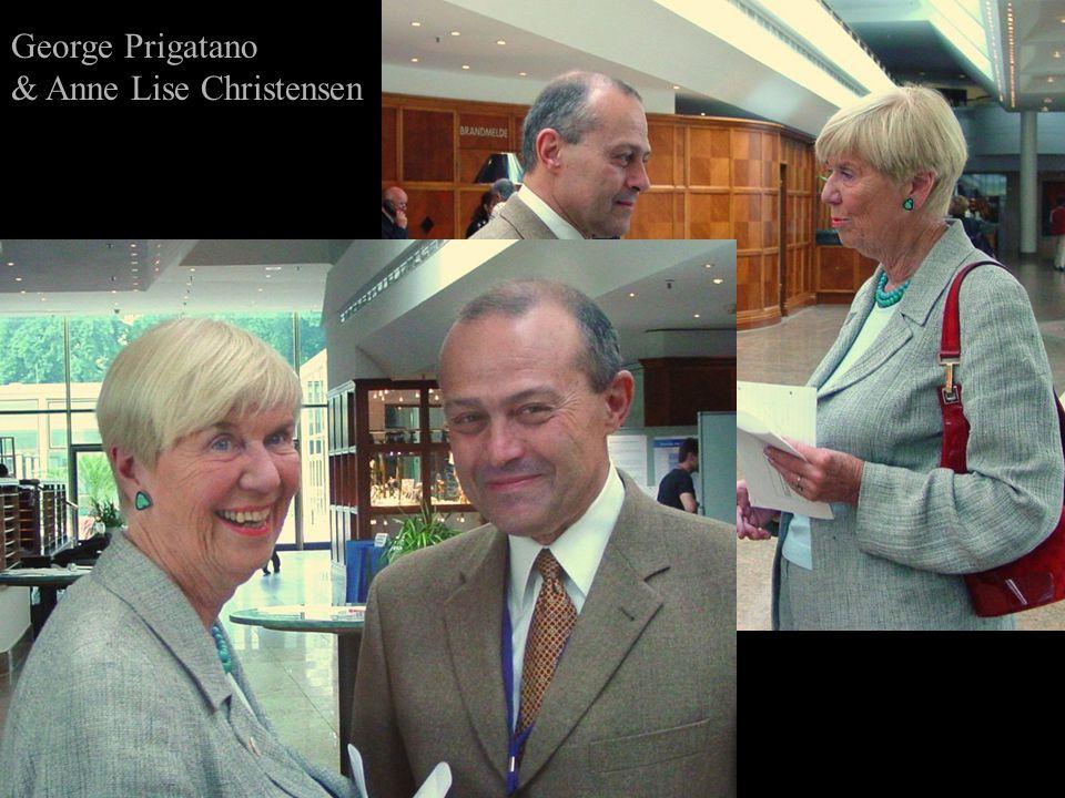 George Prigatano & Anne Lise Christensen