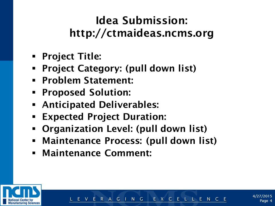4/27/2015 Page 15 Thank You and We Appreciate Your Feedback Plan for 2007 CTMA Symposium March 26-28 San Antonio, TX