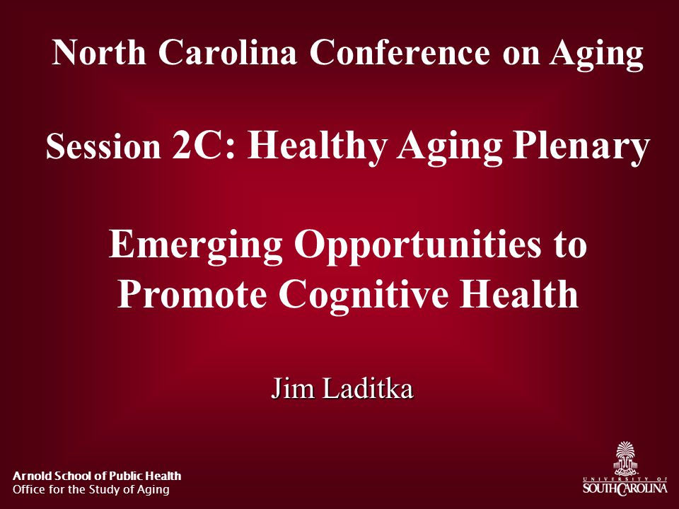 North Carolina AD Prevalence North Carolina Division of Aging and Adult Services Estimates 31,171 Moderate & Severe in 1998, 54,168 in 2020.