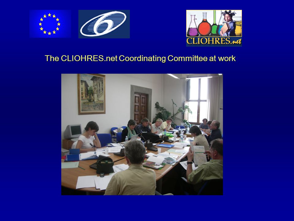 The CLIOHRES.net Coordinating Committee at work
