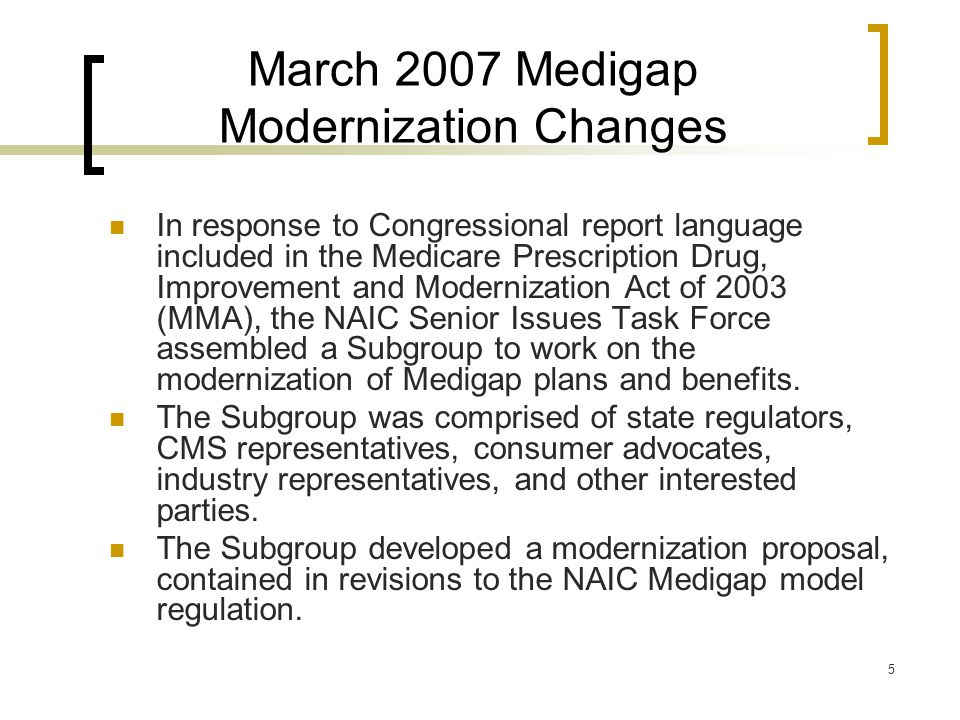 16 MIPPA Requirements MIPPA also clarifies that plans attempting to supplement Medicare Advantage must comply with existing Medigap requirements.