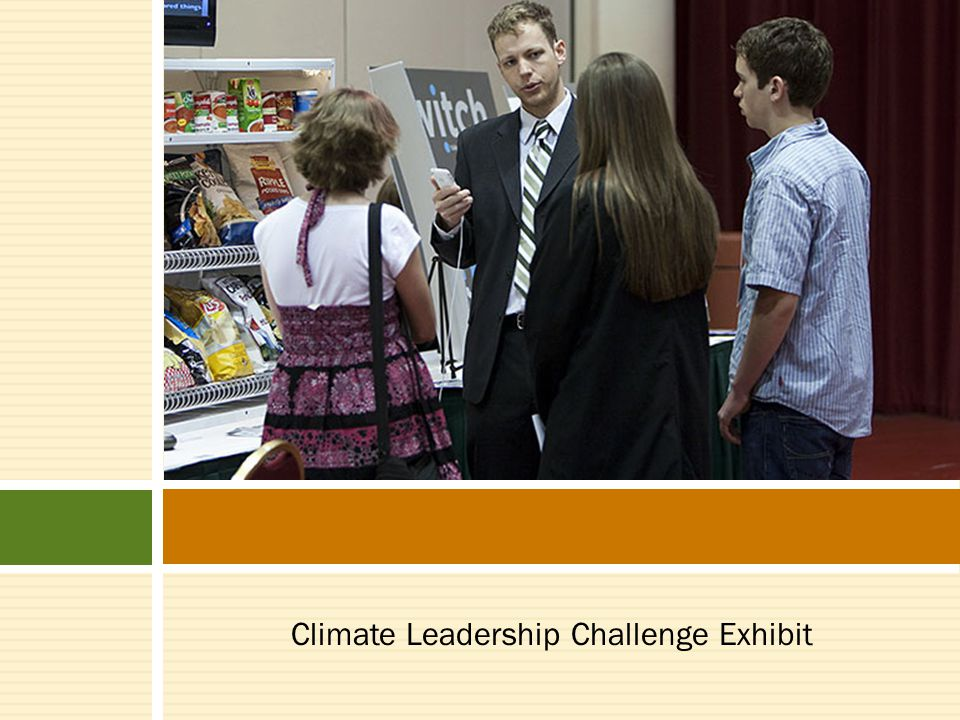 Climate Leadership Challenge Exhibit