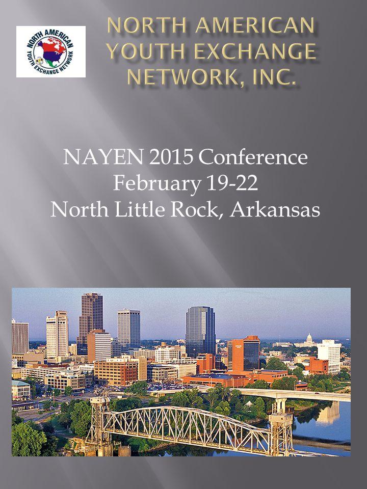 NAYEN 2015 Conference February 19-22 North Little Rock, Arkansas