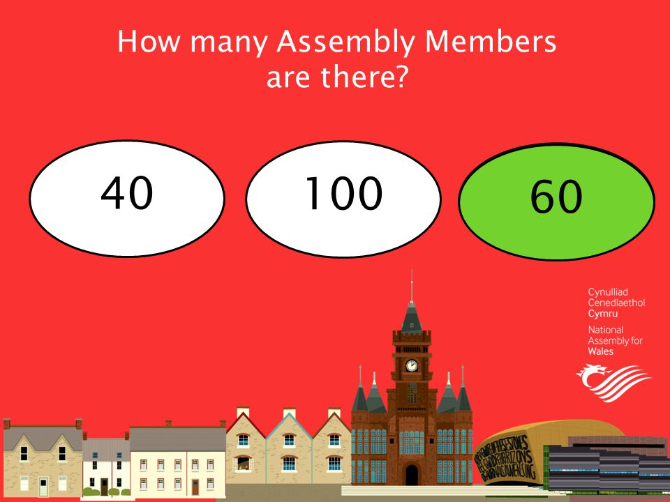How many Assembly Members are there 40 100 60