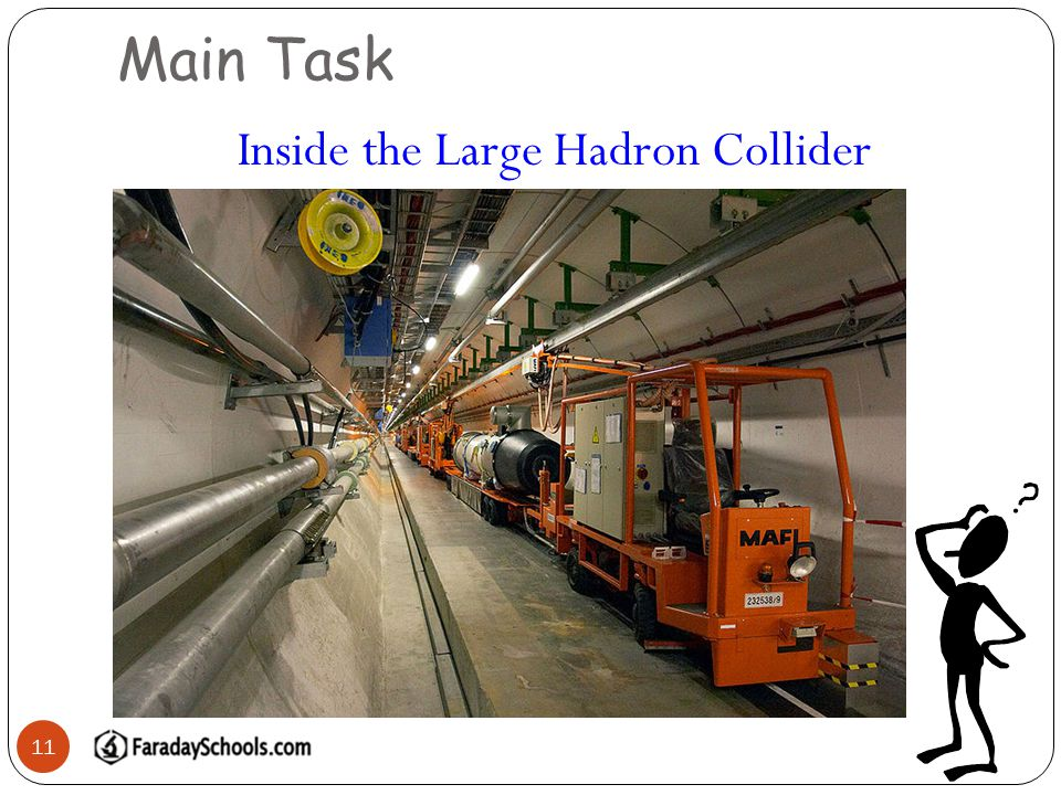 Main Task 11 Inside the Large Hadron Collider