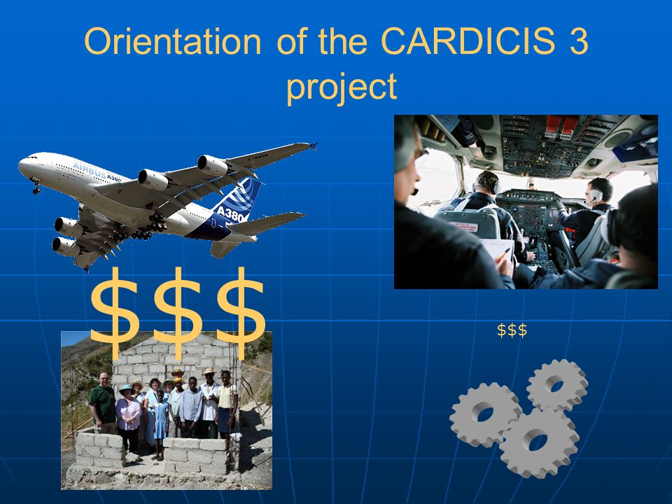 Orientation of the CARDICIS 3 project $$$