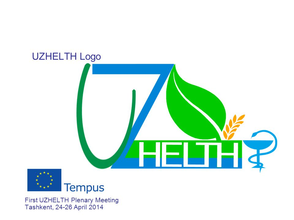 UZHELTH Logo First UZHELTH Plenary Meeting Tashkent, 24-26 April 2014