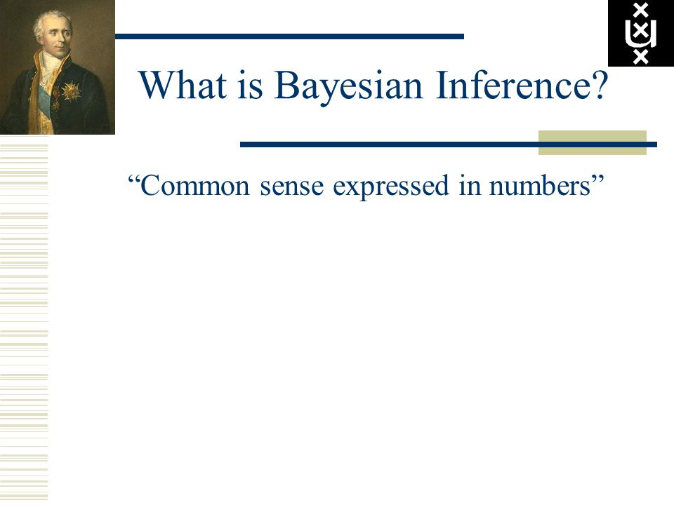 """""""Common sense expressed in numbers"""""""