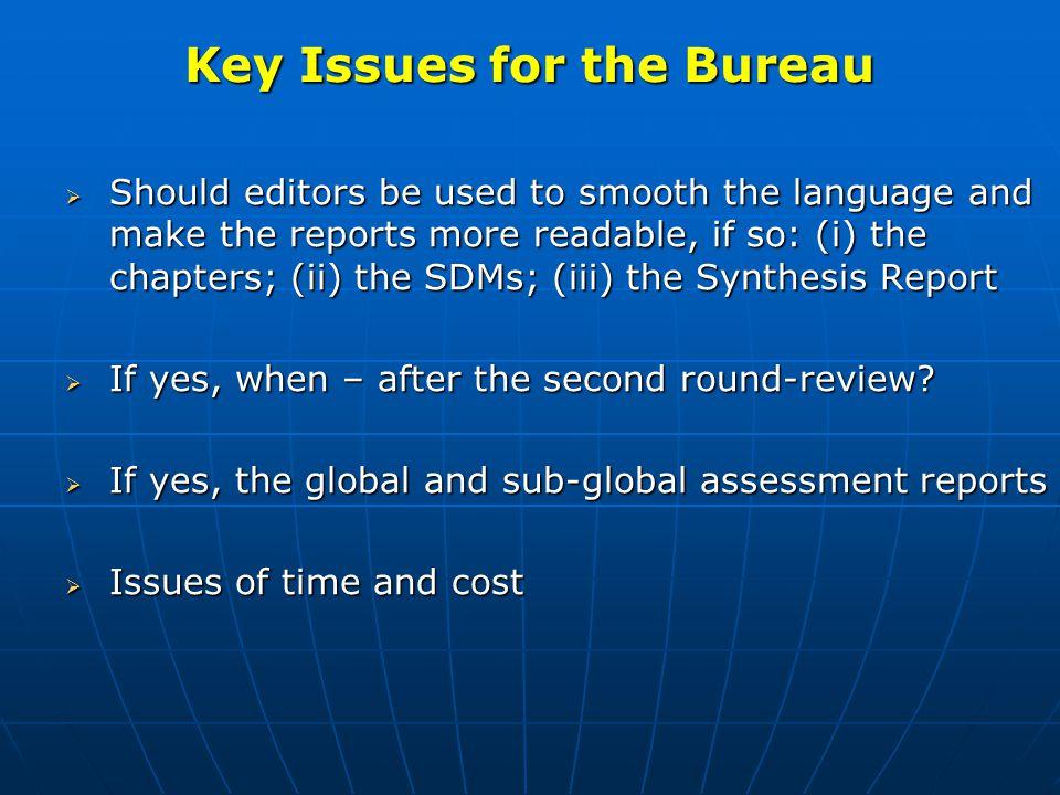 Proposed Agenda for Final Plenary