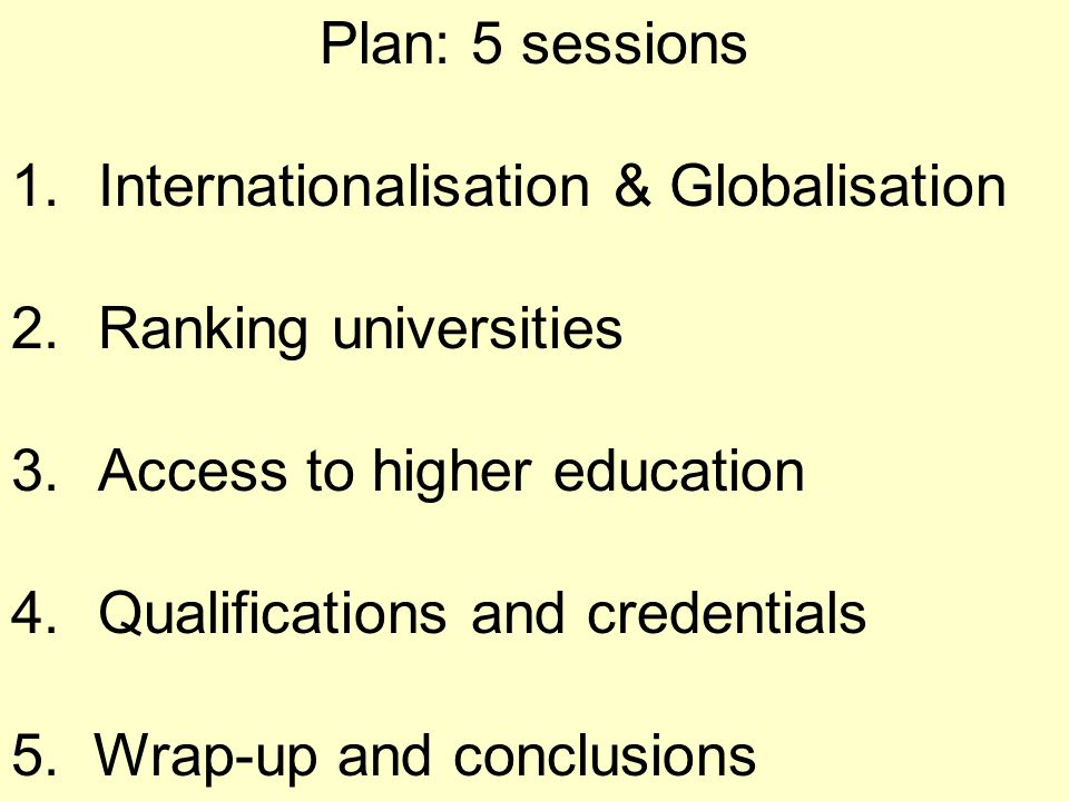 CONVENTIONS AND QUALIFICATION FRAMEWORKS TO FACILITATE STUDENT MOBILITY