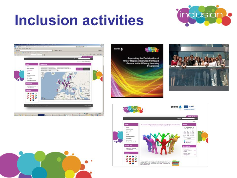 Inclusion activities