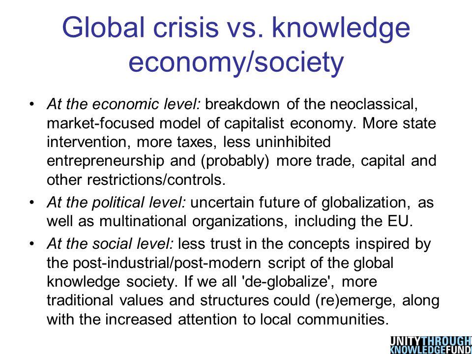 Global crisis vs.