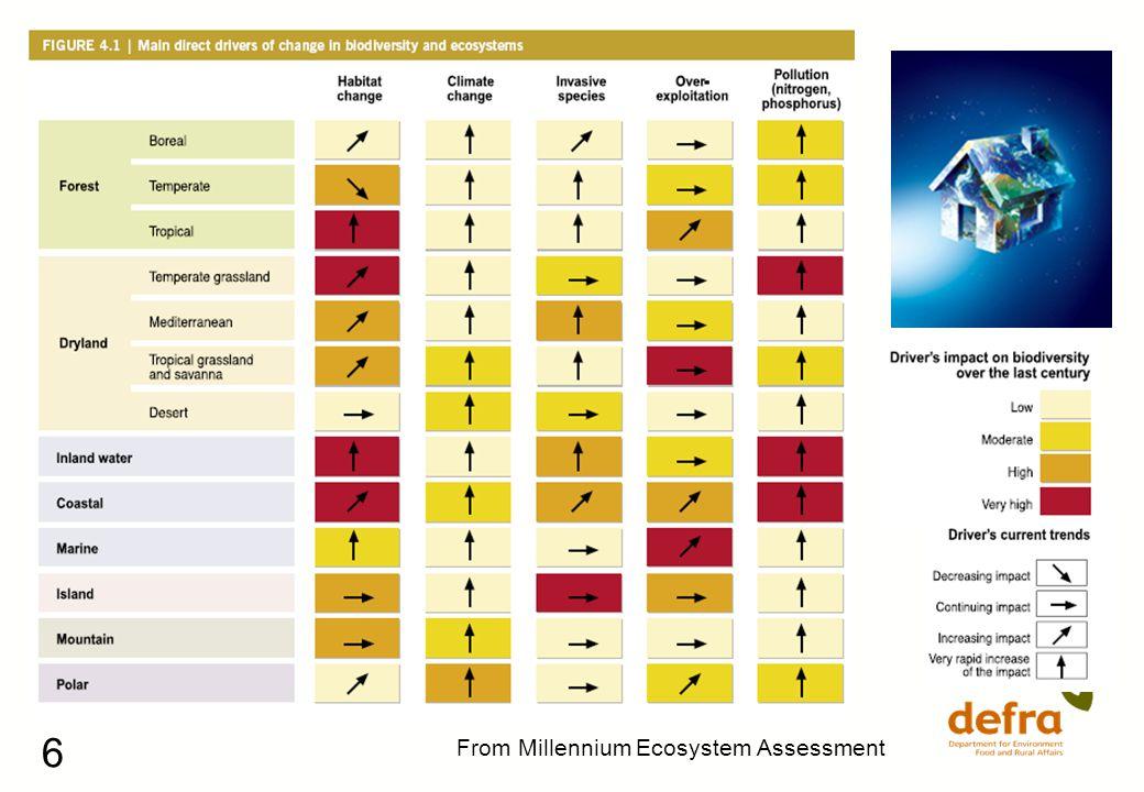 6 From Millennium Ecosystem Assessment