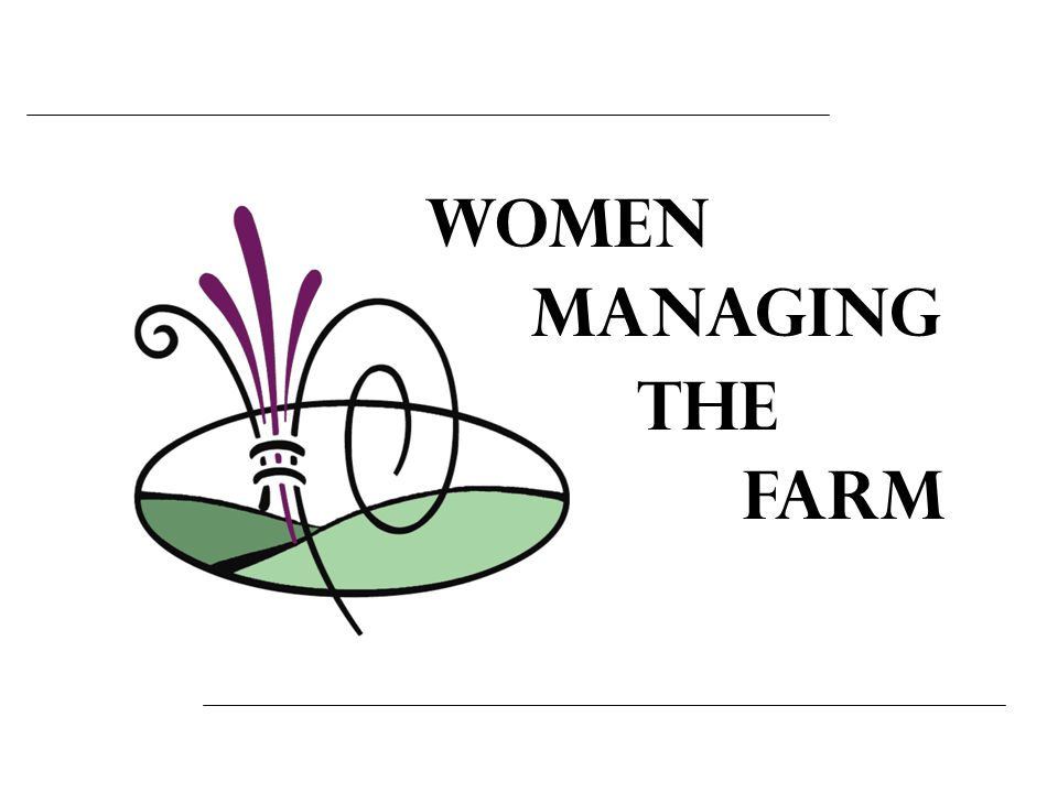Women Managing the Farm