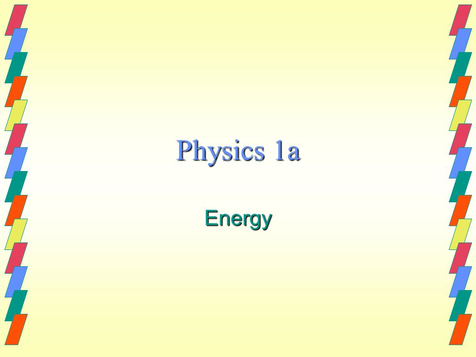 C/WWhat is Energy?27-Apr-15 Aims:-4 know what energy is 5 name several types of energy 5 name several types of energy 6 describe some energy transfers