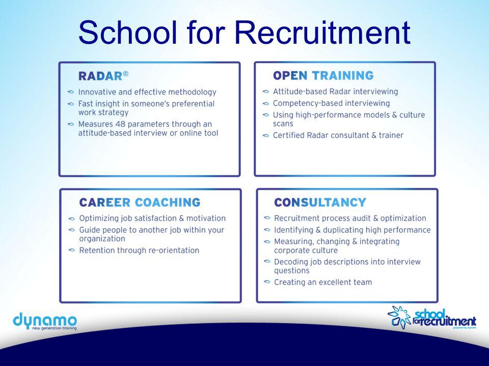 School for Recruitment