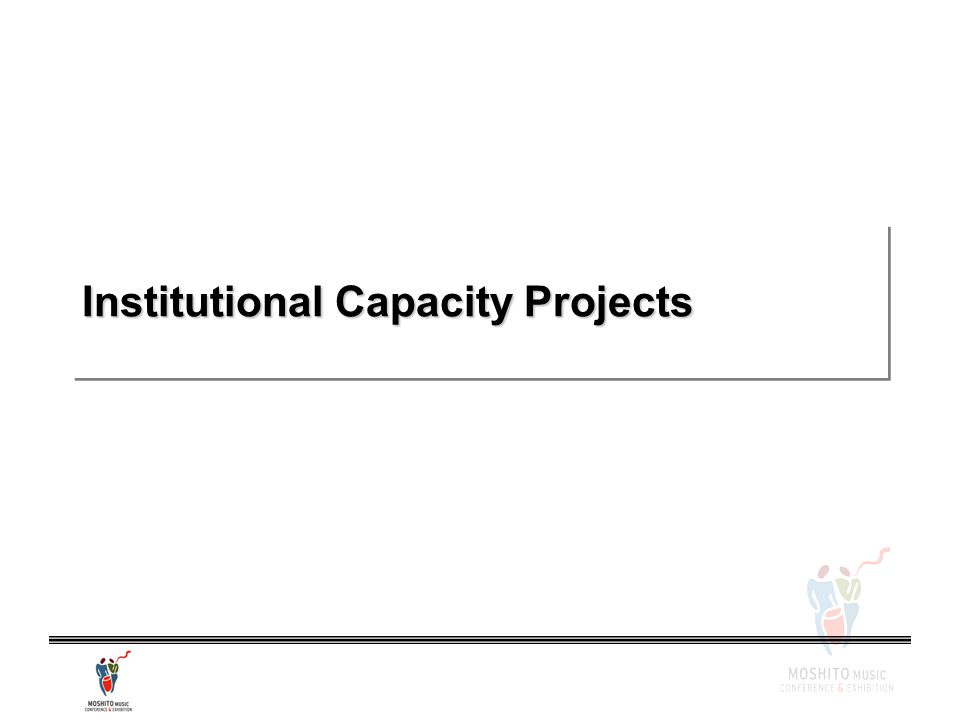 Institutional Capacity Projects