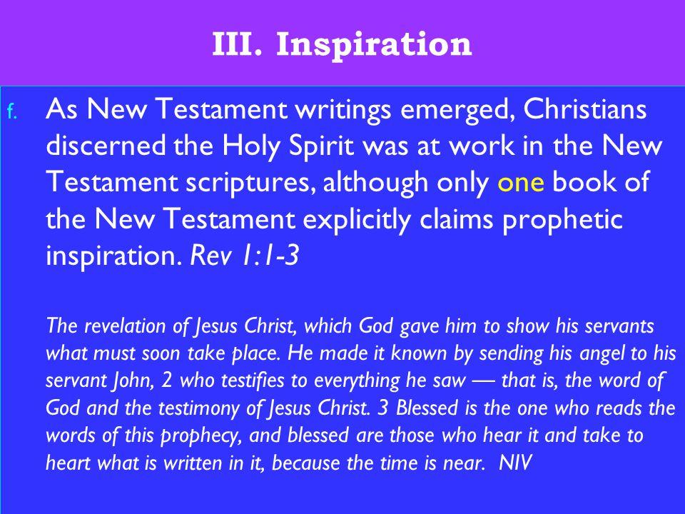 11 III. Inspiration f.
