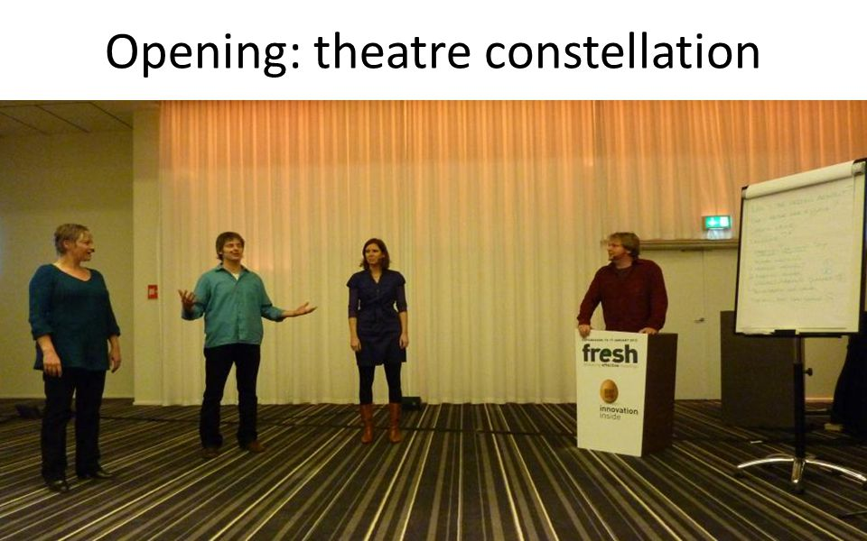 Opening: theatre constellation