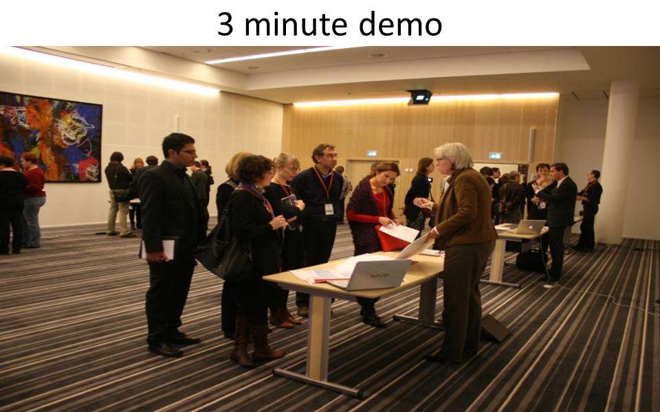 3 minute demo