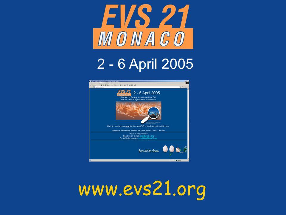 www.evs21.org 2 - 6 April 2005