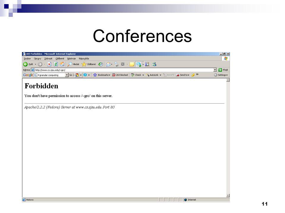 11 Conferences