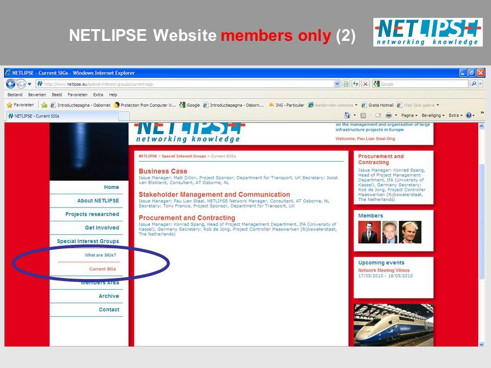 NETLIPSE Website members only (2)