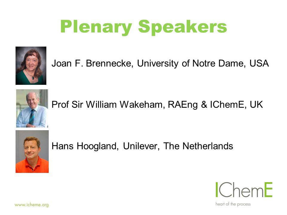 Plenary Speakers Joan F.