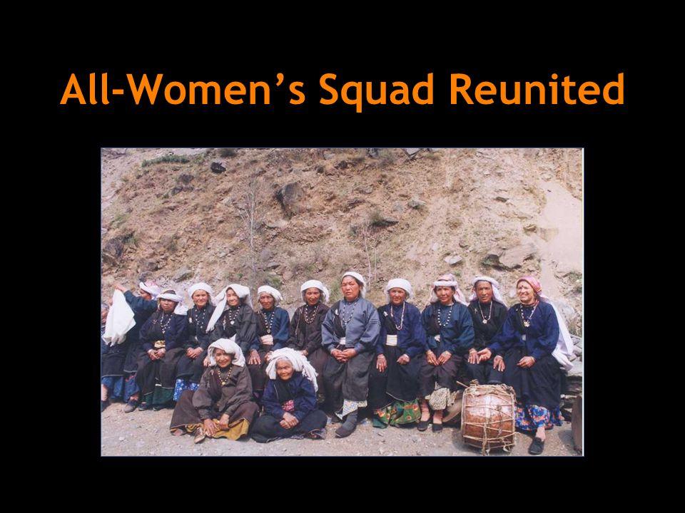All-Women's Squad Reunited
