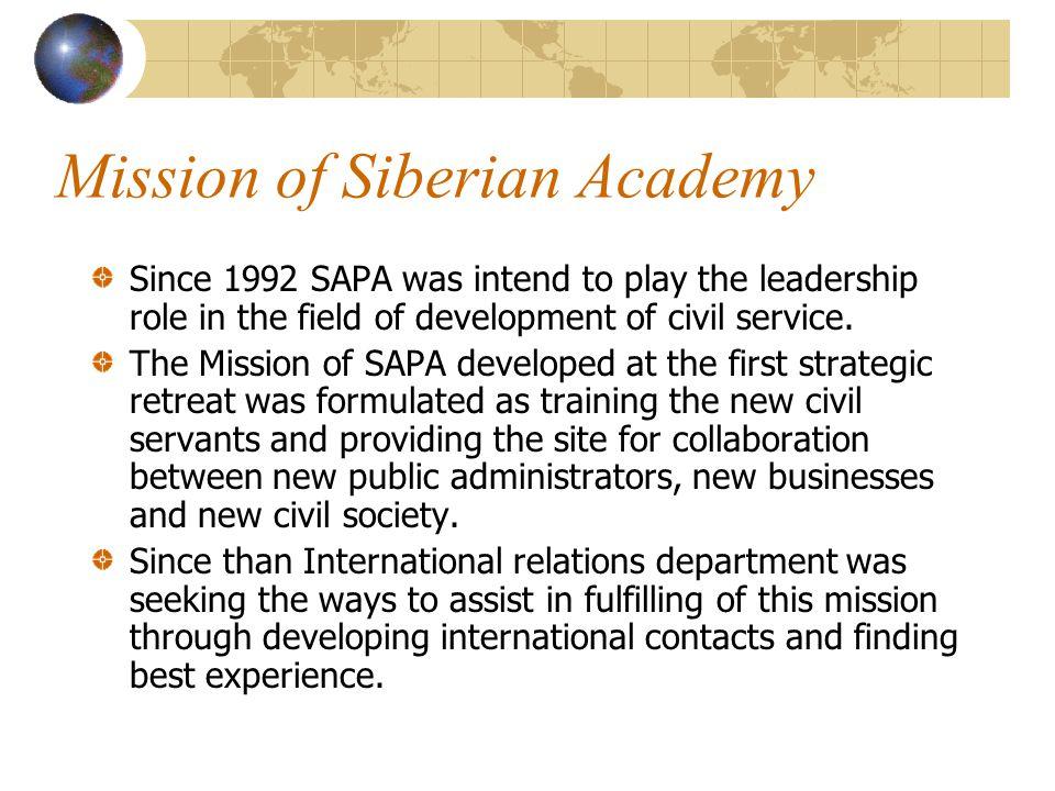 Global Leadership Forum in Istanbul, Turkey Since 2001 representatives of SAPA regularly participated in the Global Leadership Forum organized by professor Adel Safty in Istanbul, Turkey.