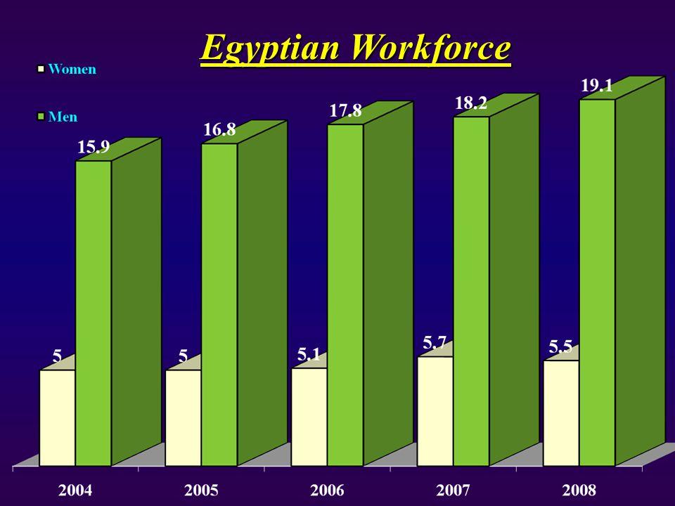 Egyptian Workforce