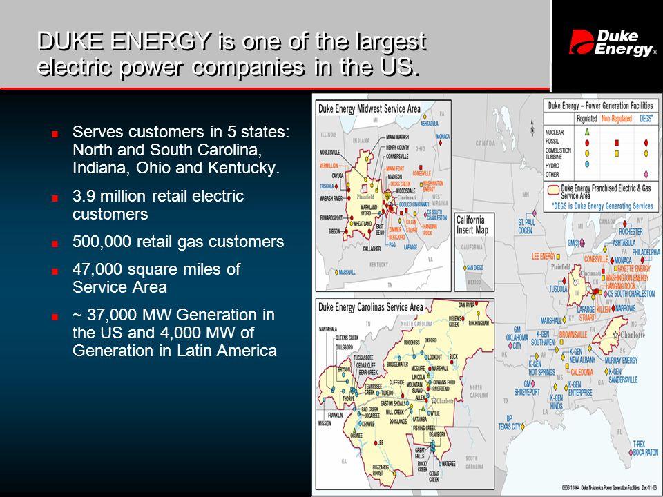 2 Duke Energy North America Power Generation Facilities